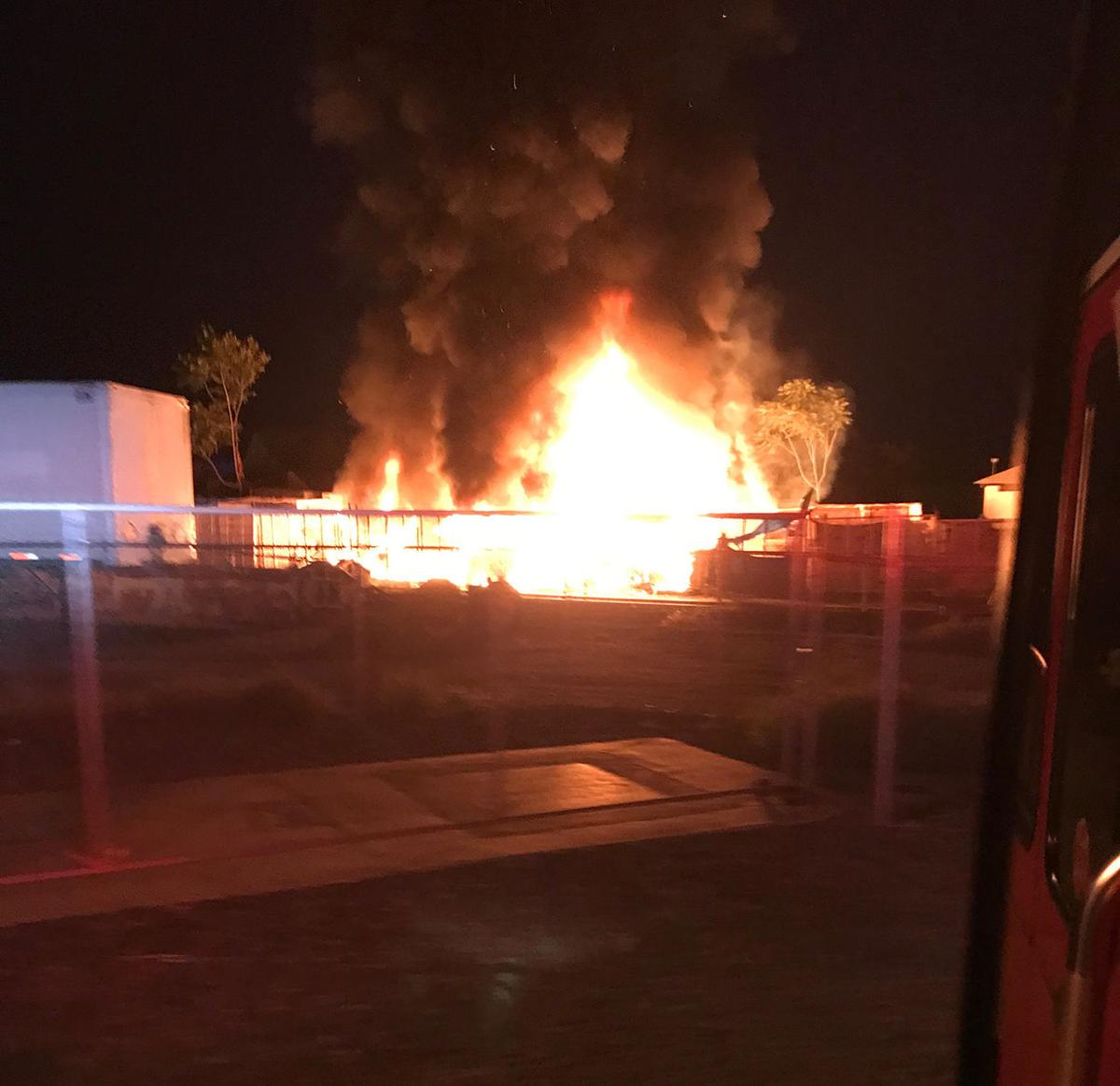 Fire at the Cages