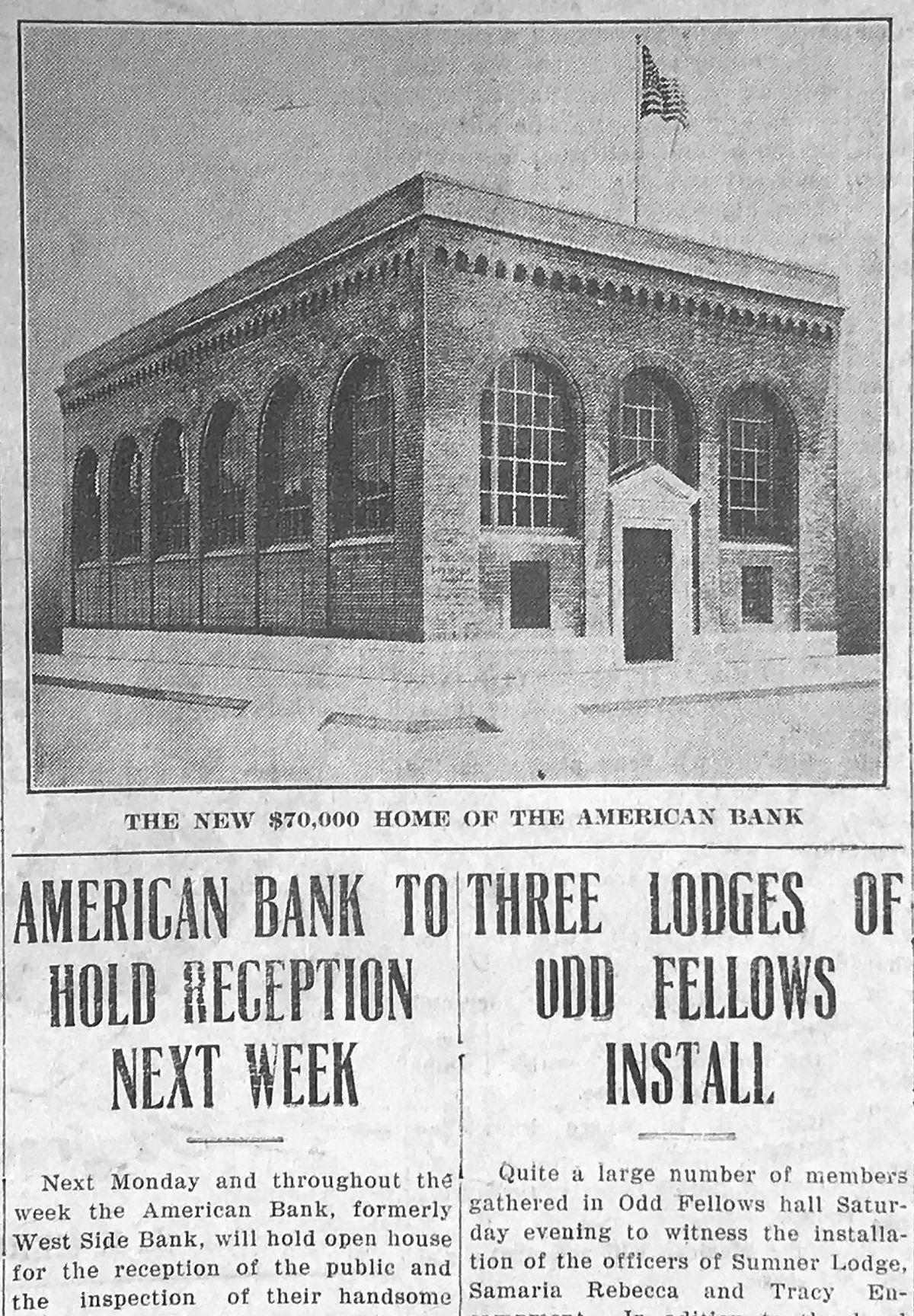 American Bank of Tracy