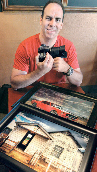 In the Spotlight: Firefighter's photos become works of art
