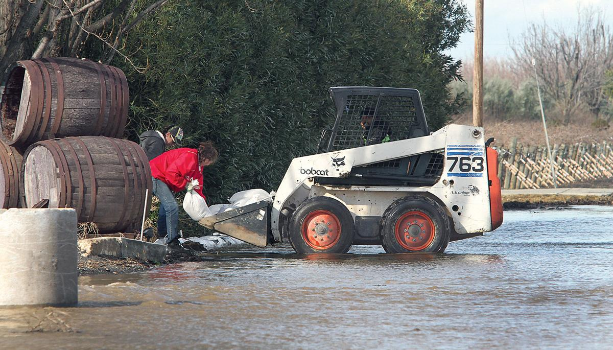 Corral Hollow Creek flooding closes roads | Tracy Press News
