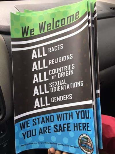 Flyers against Hate