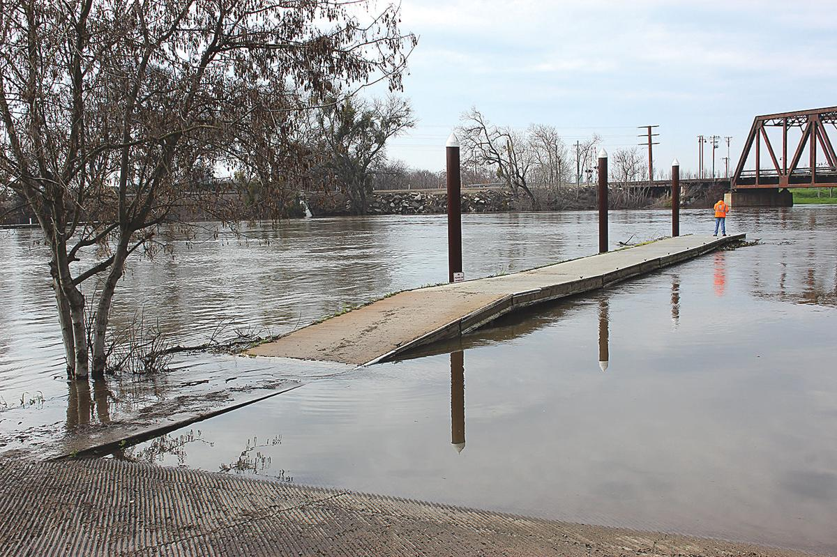 San Joaquin River at Mossdale