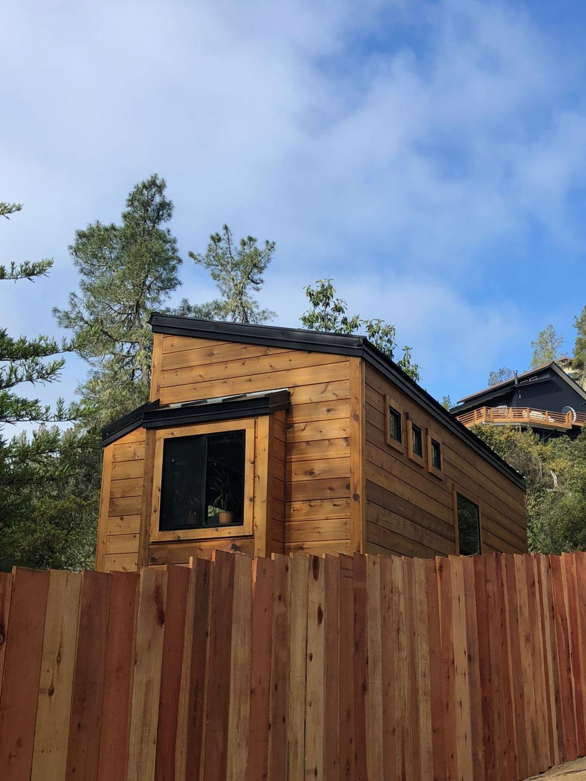Tiny Home donated to homeless father and daughter by Boulder Creek ...