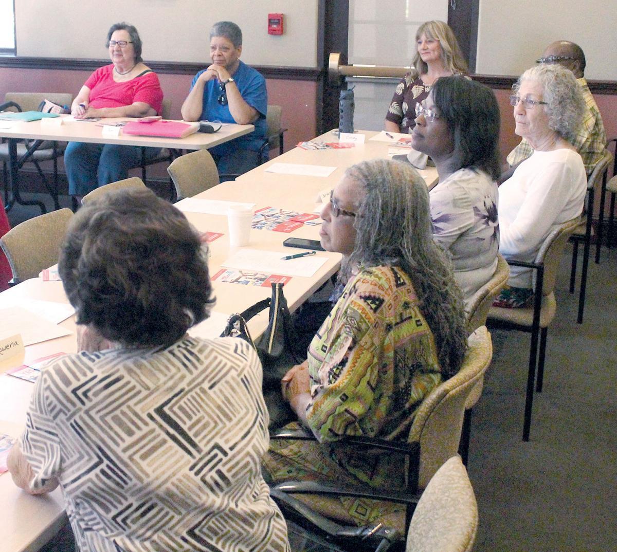 Seniors Hear Case For M