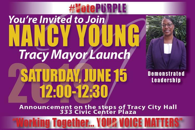 Nancy Young mayor launch