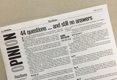 44 questions... and no answers