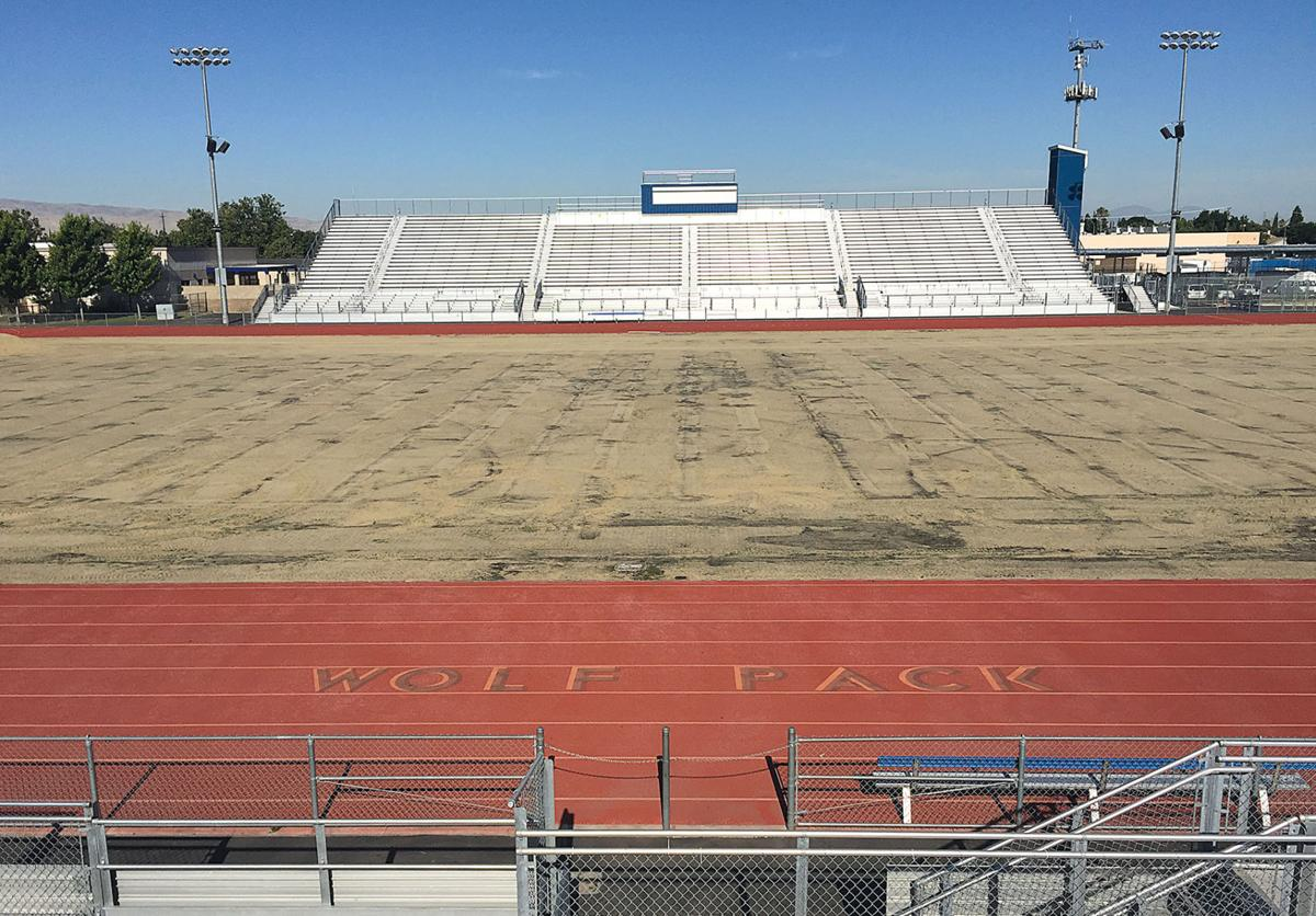 West football field replacement