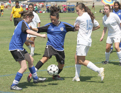 Tracy Youth Soccer League hosts annual girls tournament