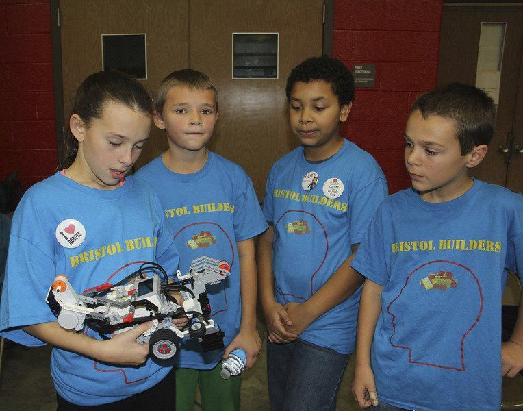 Kids learn what they're capable of during Lego robotics competition