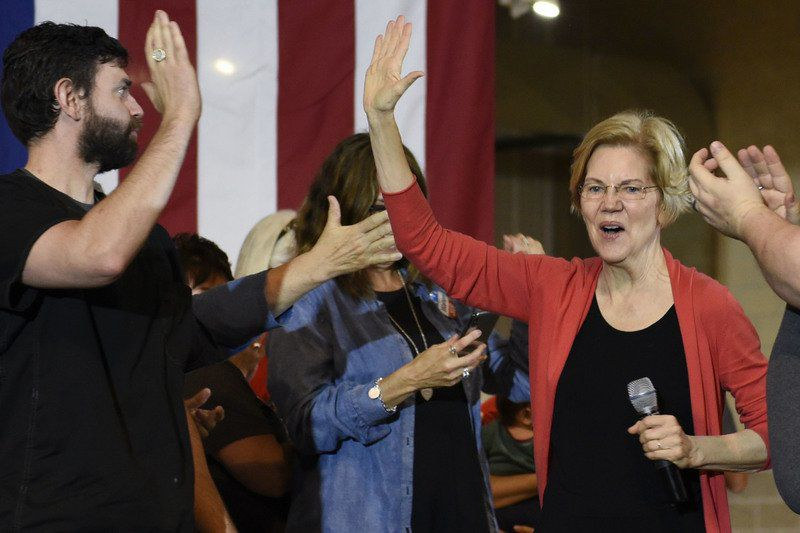 Warren outlines 3-part economic policy to Elkhart crowd
