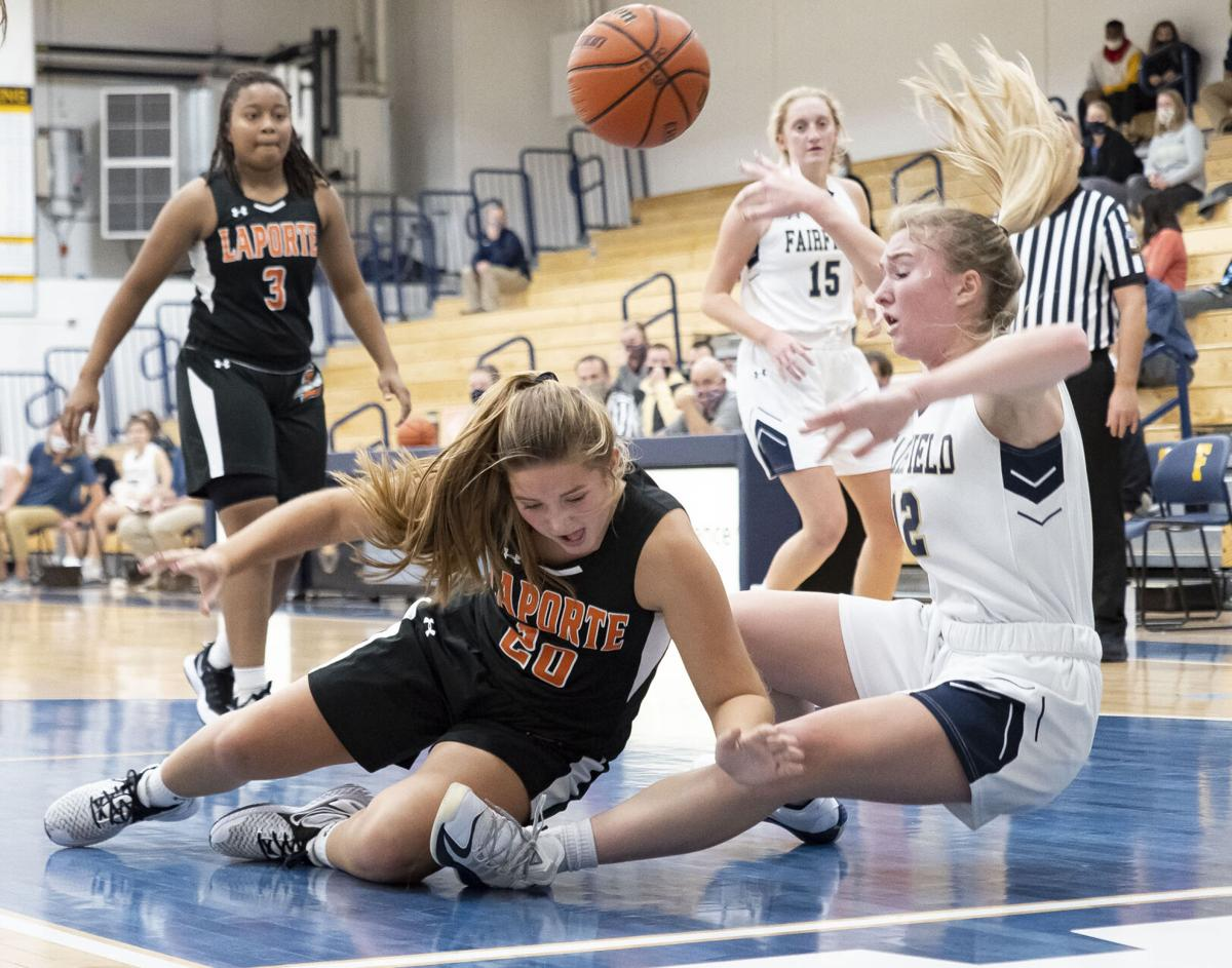 PREP GIRLS BASKETBALL: LaPorte at Fairfield