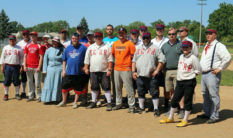 VINTAGE BASE BALL: How I ended up in the game