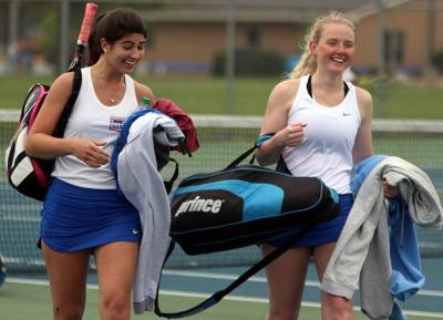 PREP GIRLS TENNIS: West Noble's Miller, Kruger fall in state quarters