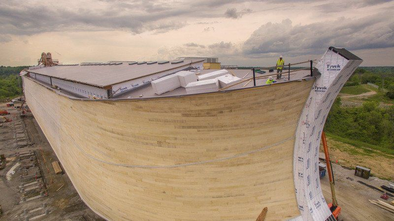 Anabaptist craftsmen use skills to help create ark attraction