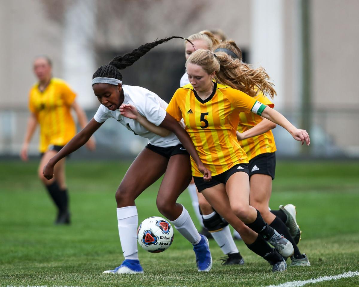 Penn vs Northridge IHSAA Girls Sectionals Soccer 1