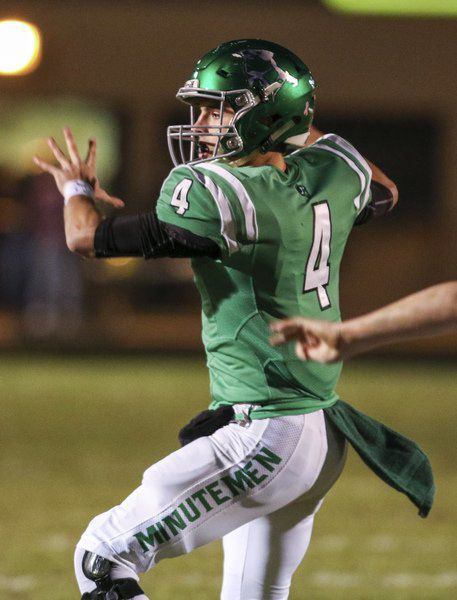 PREP FOOTBALL: Minutemen, Wolves clash in playoffs