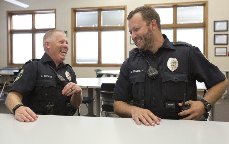 New Concord officers already reaching staff, students