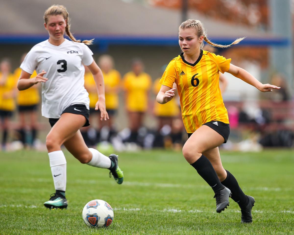 Penn vs Northridge IHSAA Girls Sectionals Soccer 5