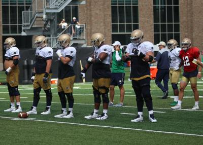 NOTRE DAME FOOTBALL; Patterson tasked with joining veteran group
