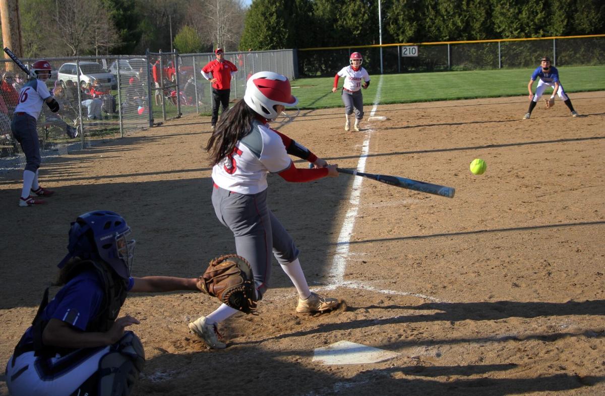 Liz Ramirez Goshen Bethany softball 4 13 2021