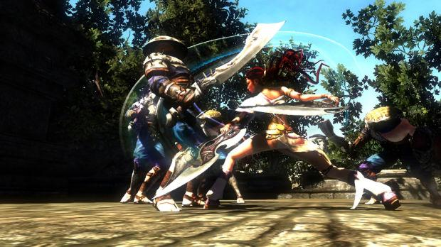 Video Game Review Heavenly Sword Swings Onto Playstation 3