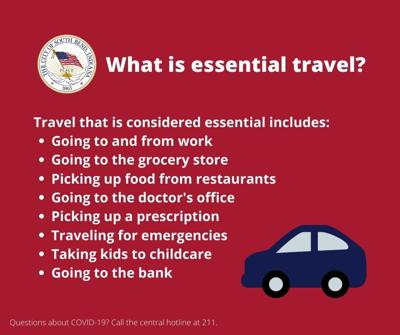 What is essential travel
