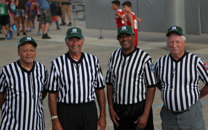 3-ON-3 BASKETBALL: Friendship bonds refs at 3-on-3 tournament