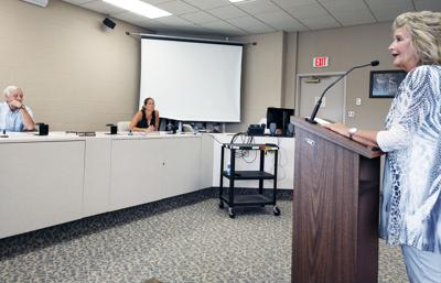 Commissioners hear local opposition to face mask mandate