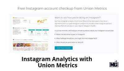 TECH TALK WITH MIKE: Union Metrics offers Instagram account checkup