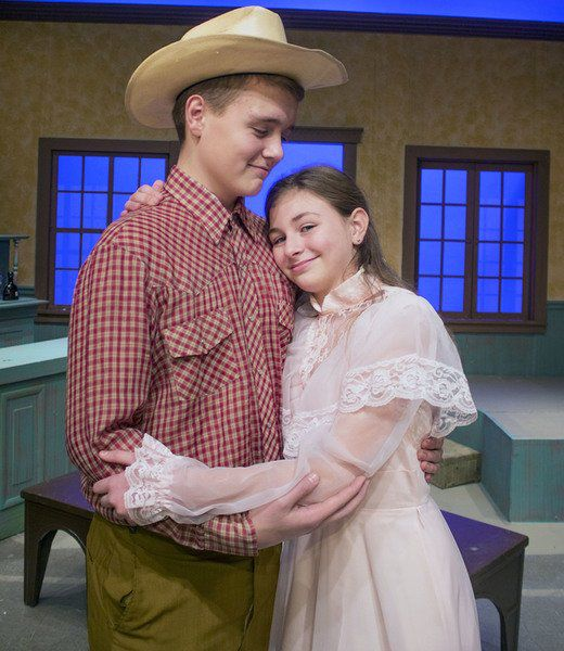 ECT's 'Holder Posey' melodrama combines wordplay, Old West