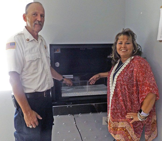 Drop-off box for unwanted newborns installed at Turkey Creek fire station