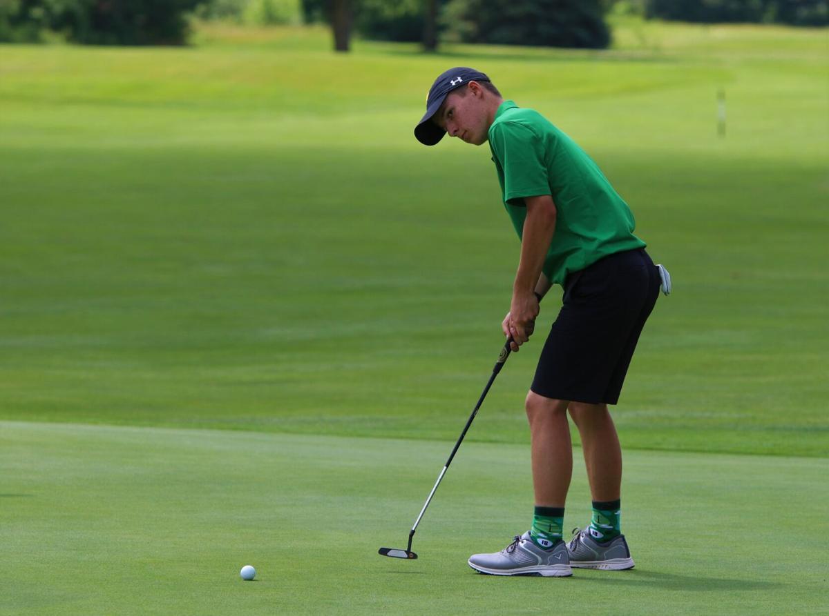 Brock Reschly Northridge boys golf regional 6 10 2021