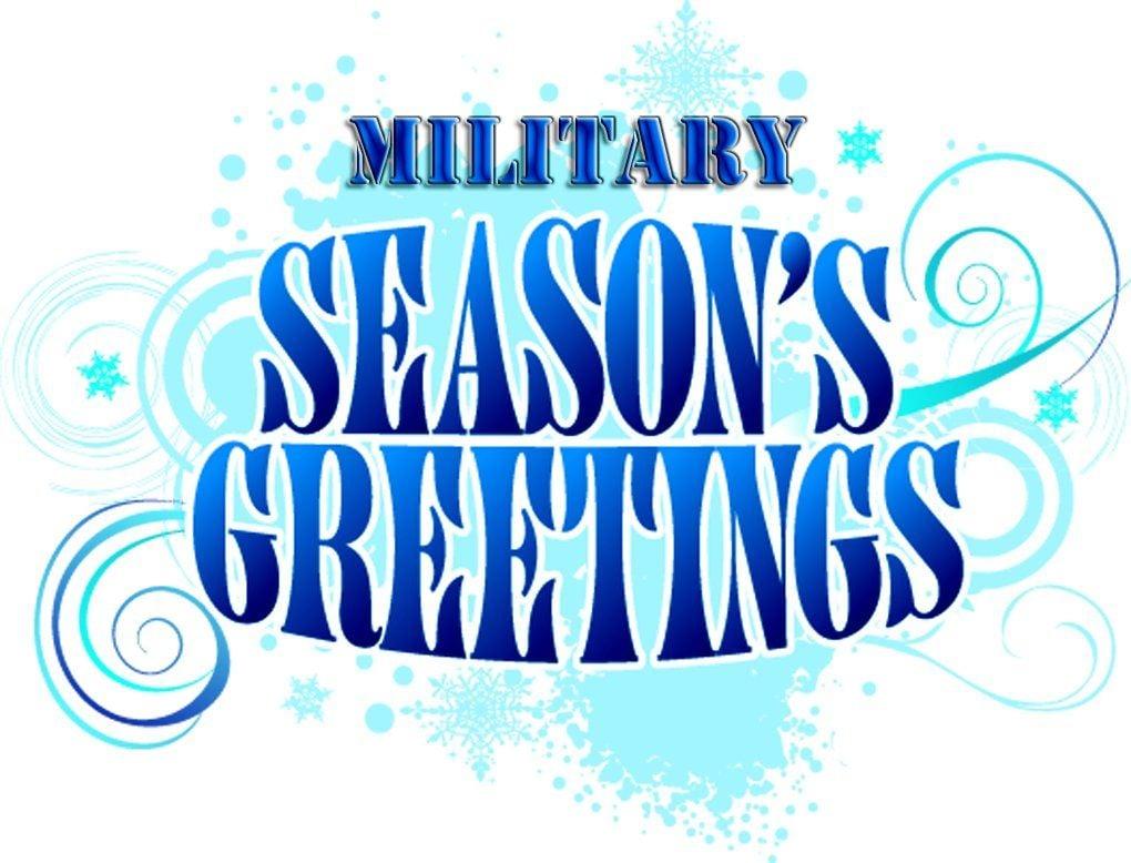 Military Christmas Greetings Army Sgt Oscar Pena Ligonier Local