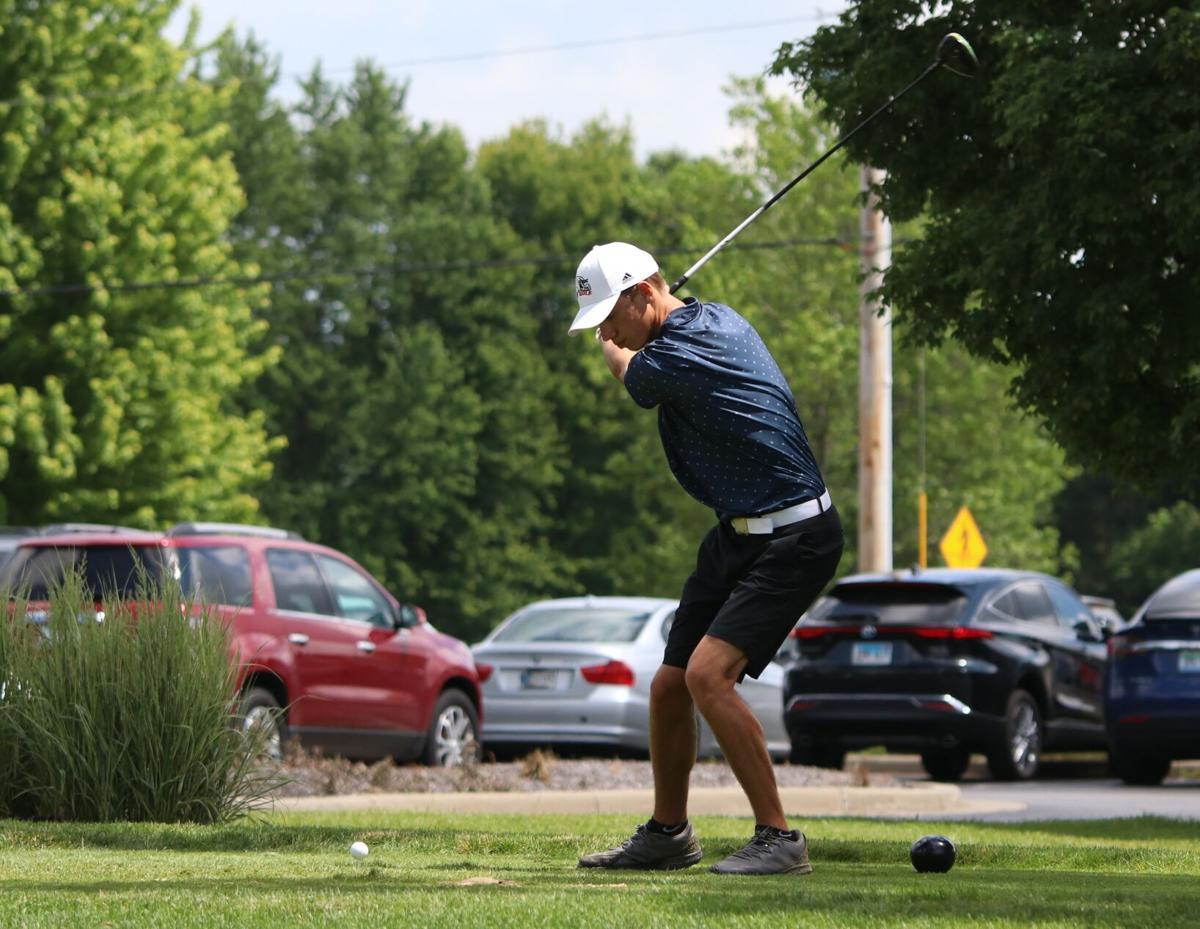 Jon Cripe NorthWood boys golf regional 6 10 2021