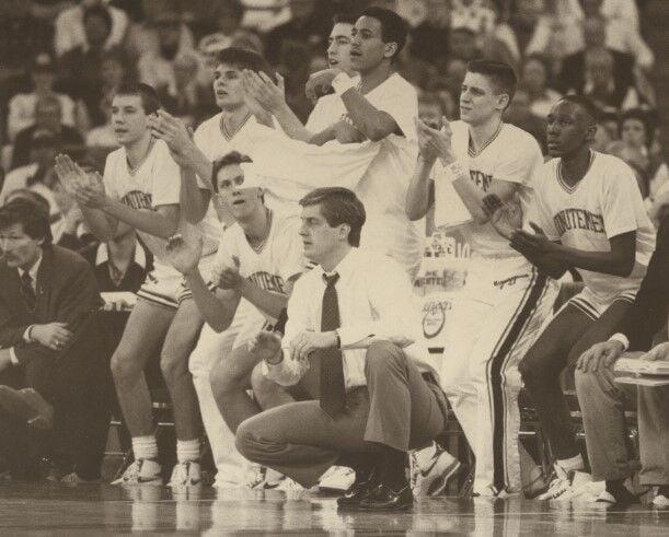 Hahn coaching 1990 title game