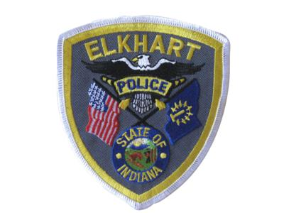 Elkhart Police Department stock photo