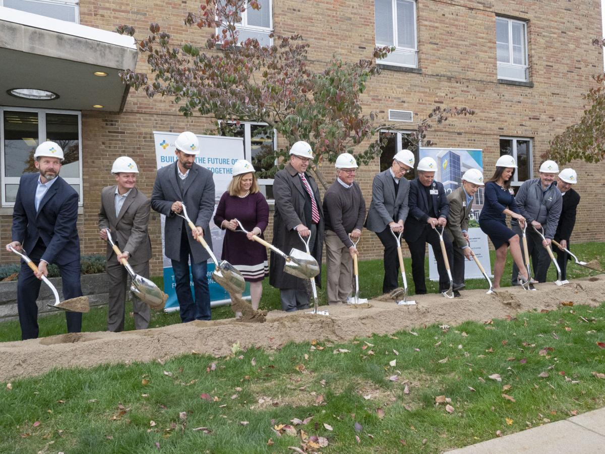 GOSHEN HEALTH GROUNDBREAKING
