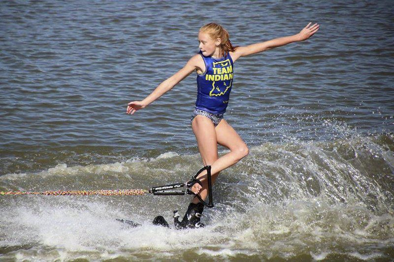 WATER SKIING: Mishler sisters champion water skiers