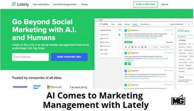TECH TALK WITH MIKE: Lately using artificial intelligence for marketing
