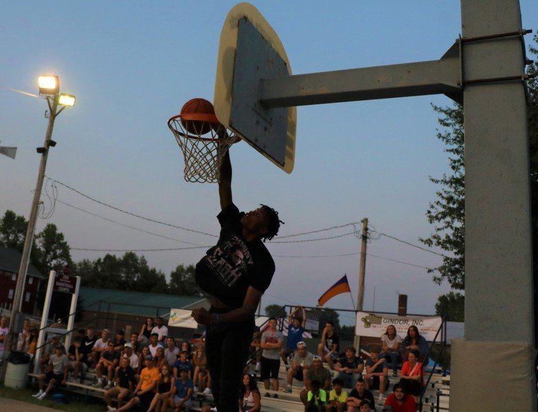 ELKHART COUNTY 4-H FAIR: 7 teams, 3 point, dunk winners