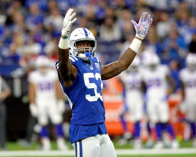 2f03fad5be8 NFL  Colts LB Leonard aims to top sensational rookie year