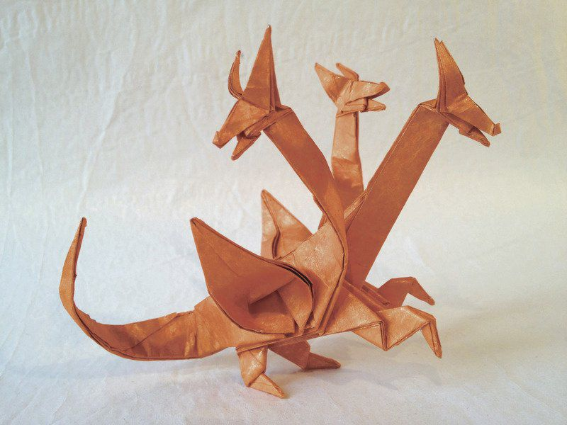 The Best Mythological Origami Creations of 2018 | 600x800