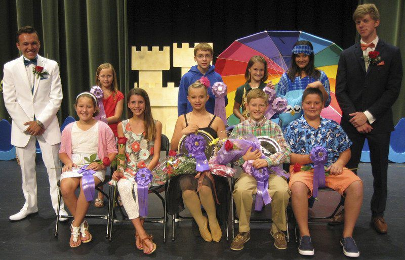 4-H Fashion Revue model clothing for the public | Elkhart County 4h