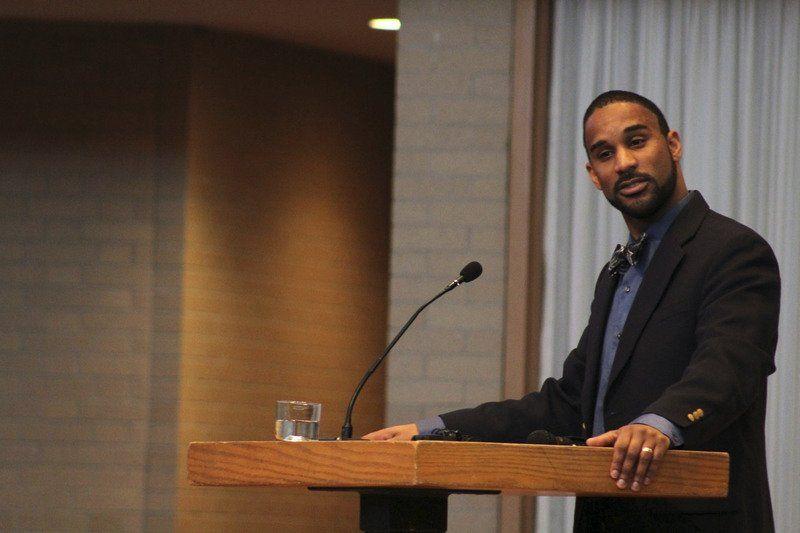 MLK DAY: Despite progress, speaker at Goshen College says black issues are still largely ignored