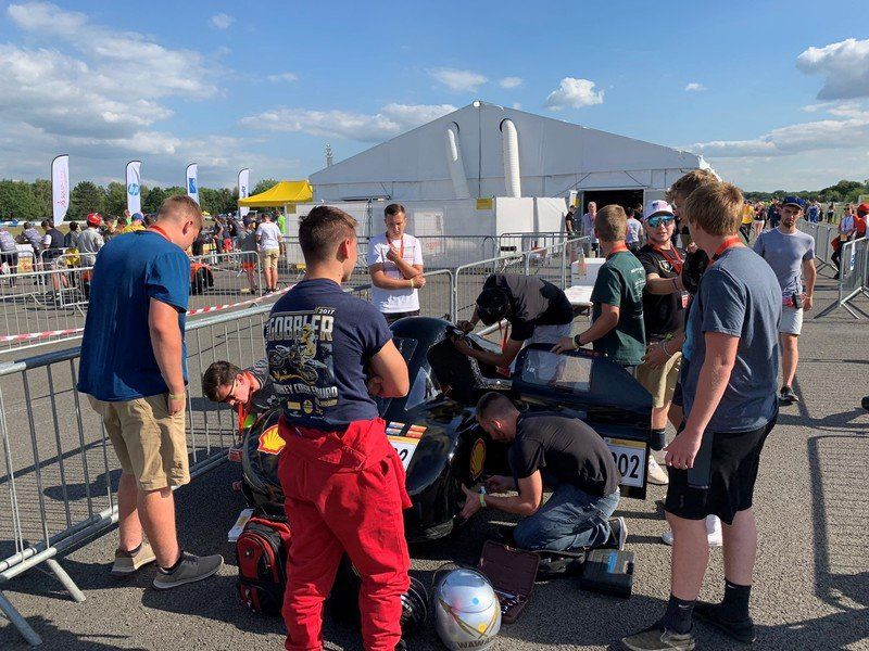 Wawasee Supermileage finishes second in European competition