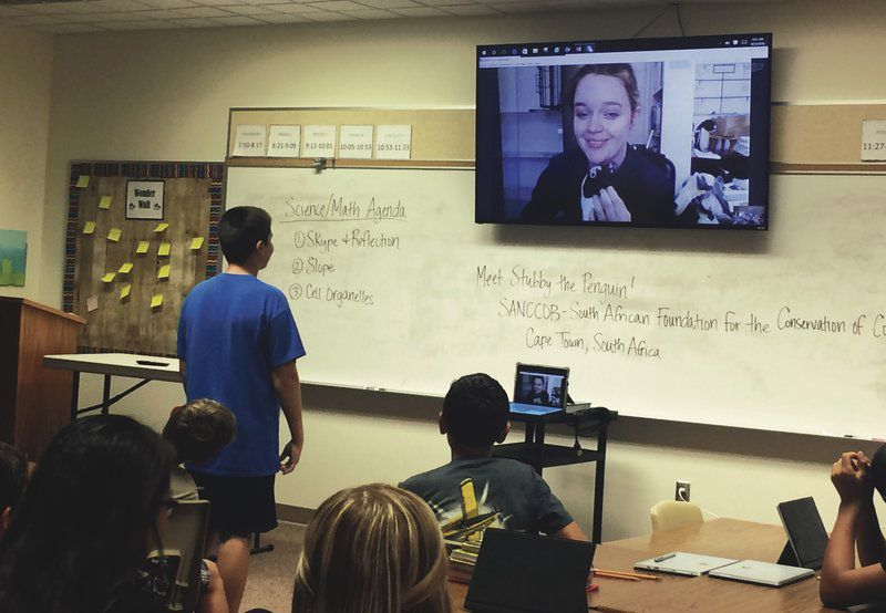 NorthWood seventh graders take part in pilot STEM program