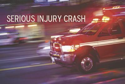 Serious injury crash