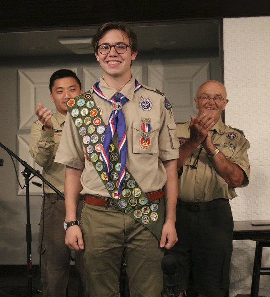 Bristol youth earns Eagle Scout rank