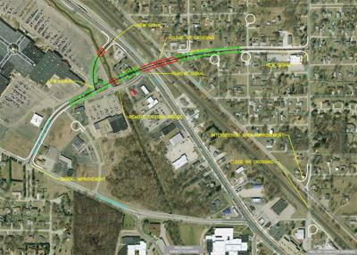 Elkhart County Commissioners are all aboard a railroad overpass plan for Dunlap