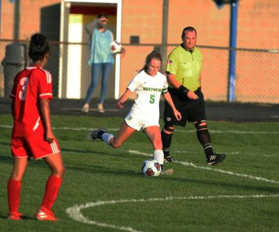 Maddy Wienert file photo vs. Goshen